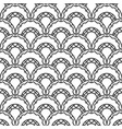 retro arc seamless pattern vector image vector image