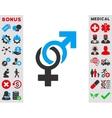 Sexual Symbols Icon vector image vector image