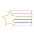 star flag color design creative vector image