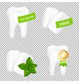 stomatologic set vector image vector image