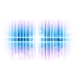 vertical lines abstract blue vector image