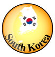 button South Korea vector image vector image