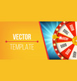 creative of 3d fortune vector image vector image
