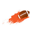 football ball icon with an effect vector image