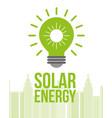 green energy alternative vector image