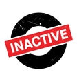 Inactive rubber stamp vector image vector image