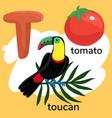 letter t children s alphabet