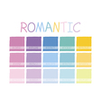 Romantic Color Tone vector image vector image