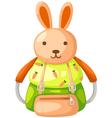 schoolbag vector image vector image