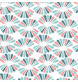 seamless nice pattern with retro flowers vector image vector image