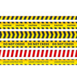 seamless security stripe safety danger signs do vector image vector image