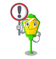 with sign lamps post collection in a cartoon vector image vector image