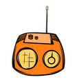 boom box icon cartoon vector image vector image