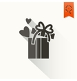 Happy Valentines Day Icon vector image vector image