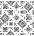 monochrome abstract geometric pattern vector image vector image