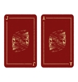 Playing cards design vector image vector image