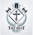 retro vintage insignia design element vector image vector image