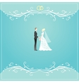 Weding background vector image vector image