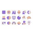 artificial intelligence human innovation future vector image