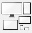 Best Mockup Responsive vector image vector image