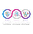 branding elements infographic template vector image