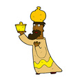 one of the three wise men vector image