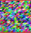 seamless texture of colored triangles abstract vector image vector image