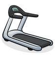 treadmill running machine vector image