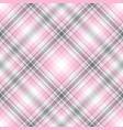 abstract diagonal gray-pink striped seamless vector image vector image