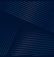 dark blue background with geometric lines vector image vector image