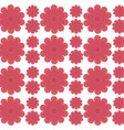 flower decorative seamless pattern design vector image vector image
