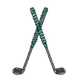 golf club icon image vector image vector image