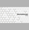 grey background with triangles vector image vector image