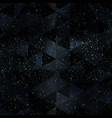 grunge space seamless pattern vector image vector image