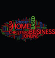 latest home based business ideas text background vector image vector image