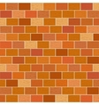 Masonry of red bricks different shades vector image vector image