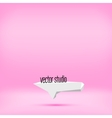pink studio room backdrop background vector image vector image