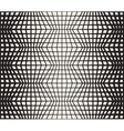 Seamless Black And White Retro Geometric vector image vector image