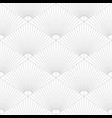 tile pattern with grey ornament on white vector image