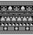 antique Greek border vector image vector image