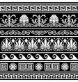 antique Greek border vector image