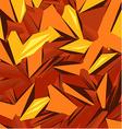Background design in orange color vector image vector image