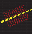 black friday promotion image vector image vector image