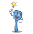 have an idea spatula character cartoon style vector image vector image
