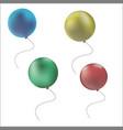 icon air ballon vector image vector image