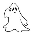 isolated ghost vector image vector image