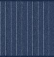 pinstriped denim fabric texture seamless pattern vector image
