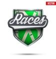 Premium symbol of Hippodrome Races label vector image vector image