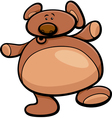 teddy bear cartoon vector image vector image