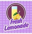 lemonade vector image